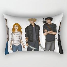 City of Bones Rectangular Pillow