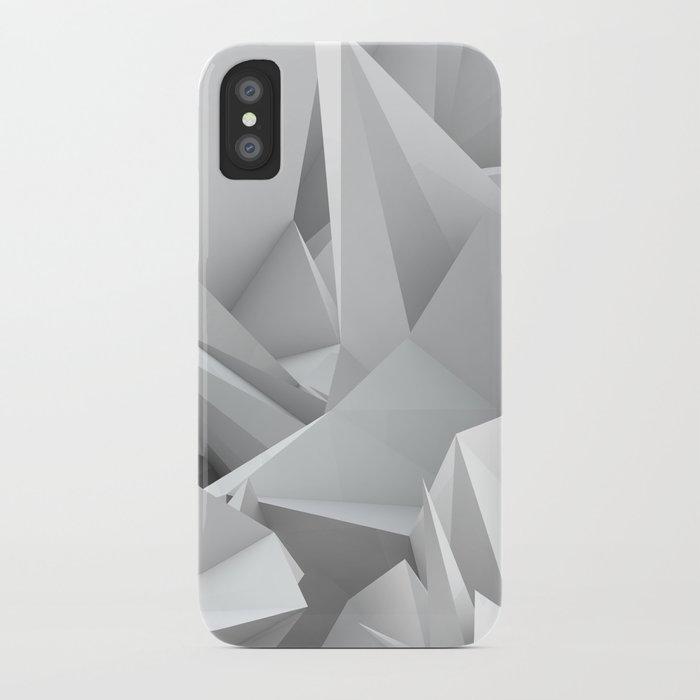 White Noiz iPhone Case
