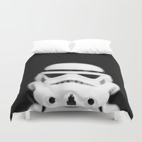 trooper Duvet Covers featuring Trooper by Emma Harckham