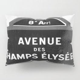 Avenue des Champs Elysees in Paris Pillow Sham