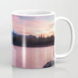 Sublime a sunrise at Lake Siskiyou with Mt. Shasta Coffee Mug