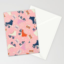 Roller skates 004 Stationery Cards