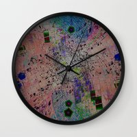 math Wall Clocks featuring Inverted Math by Stars Live Forever