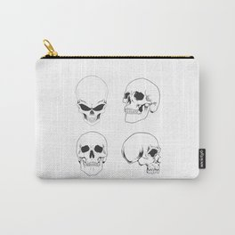 Skulling around - skeleton Carry-All Pouch