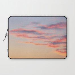 Sunset Burning Clouds Sky Laptop Sleeve