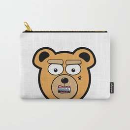 Tatted Teddy Carry-All Pouch