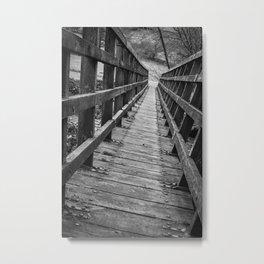 A path less travelled Metal Print