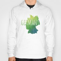 germany Hoodies featuring Germany by Stephanie Wittenburg