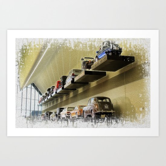 Shelved Art Print