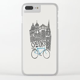 Oxford Cityscape Clear iPhone Case