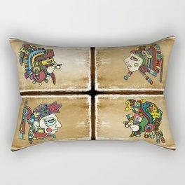 mexican warriors Rectangular Pillow
