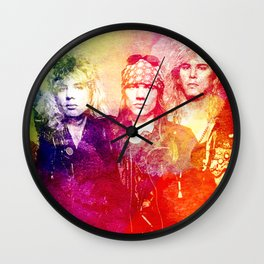 GNR color full Wall Clock