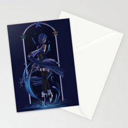 Aqua  Stationery Cards