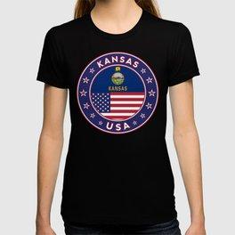 Kansas, Kansas t-shirt, Kansas sticker, Kansas Poster, T-shirt