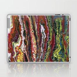 The Reef - Original, abstract, acrylic, fluid painting Laptop & iPad Skin