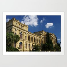 museu paulista Art Print