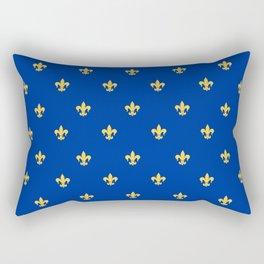 Royal Blue Rectangular Pillow