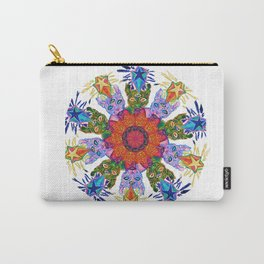 Psychic Cat Mandala Carry-All Pouch