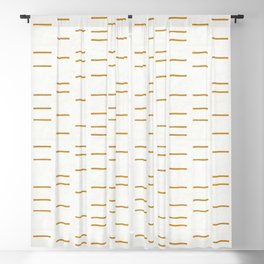 OCHRE LINE Blackout Curtain
