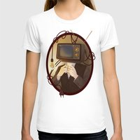 tv T-shirts featuring TELEVISION by FISHNONES