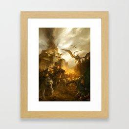LW 01 Framed Art Print