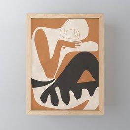 Abstract Art Figure Framed Mini Art Print