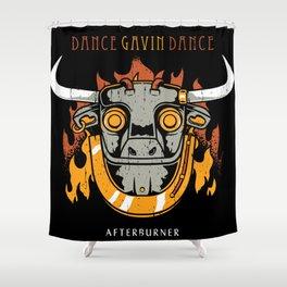gavin dance after burner logo 2021 Shower Curtain