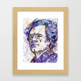 GUSTAV MAHLER portrait.5 Framed Art Print