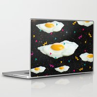 egg Laptop & iPad Skins featuring Funky Egg Galaxy by Danny Ivan