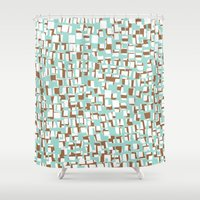 tape Shower Curtains featuring TAPE 2 by  Ray Athi