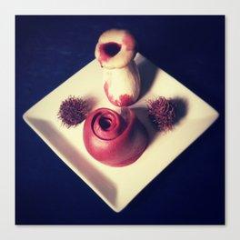 Bloody Mushroom & Spleen Rose Canvas Print