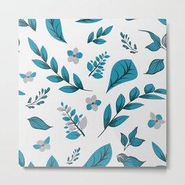 Flower Design Series 5 Metal Print