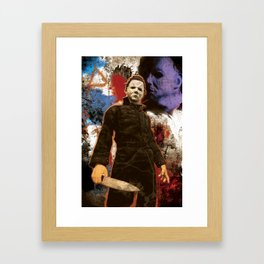 "Michael Myers Halloween ""The Curse of Thorne"" Framed Art Print"