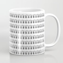 hand illustrated potted plants pattern Coffee Mug