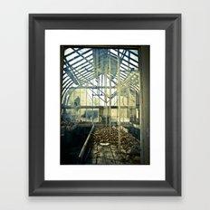 Glass House Framed Art Print