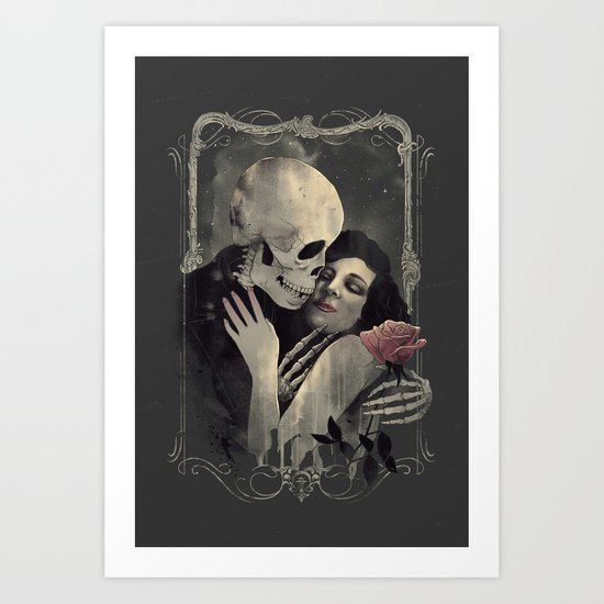 'Eternal Love' Art Print
