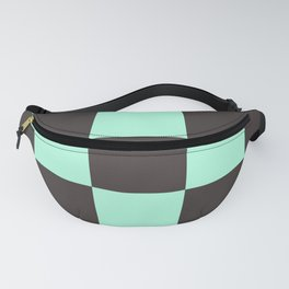 Hip Contrasty Chessboard Makara Fanny Pack