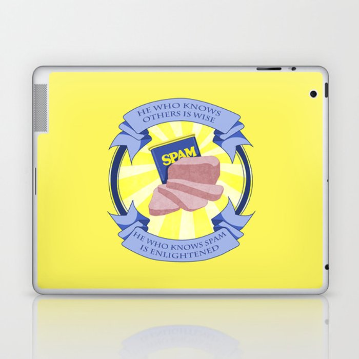The Spam of Enlightenment Laptop & iPad Skin