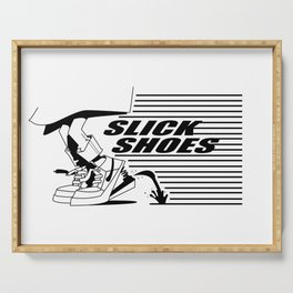 Slick Shoes Serving Tray