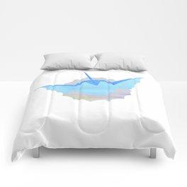 Watercolor Vaporeon Comforters