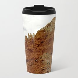 Buttes of New Mexico - On the Road to Santa Fe, No. 7 Metal Travel Mug