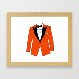Manners maketh man Framed Art Print