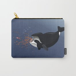 Pinocchio and the Bowhead whale Carry-All Pouch