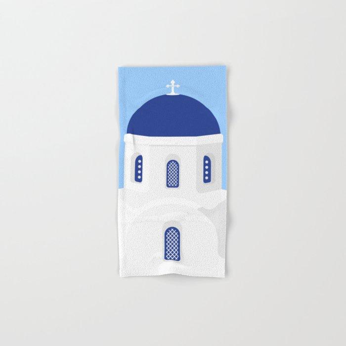 Santorini #02 Hand & Bath Towel