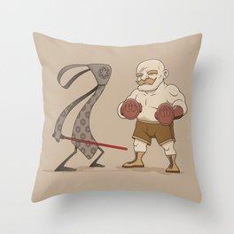 Tie Fighter Throw Pillow