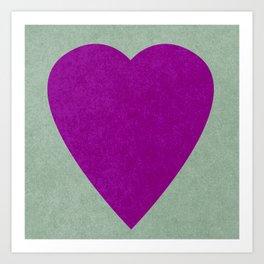 I Love You V Art Print