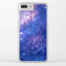 Celestial Dream Clear iPhone Case