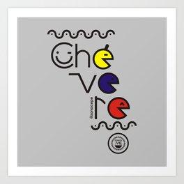 ¡Chévere Tricolor! Art Print
