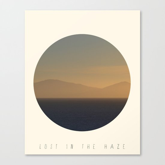 Lost In The Haze Canvas Print