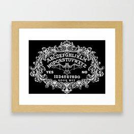 Baroque Ouija Framed Art Print